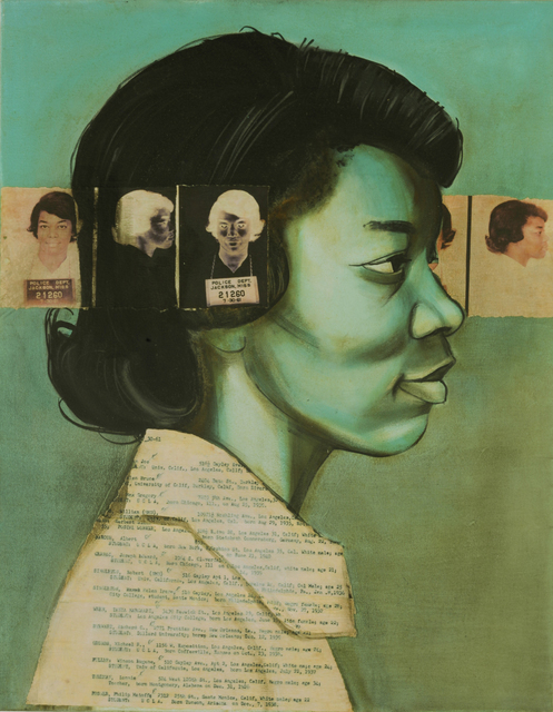 Charlotta Janssen, 'Helen Singleton (Profile) 28 yrs, from Los Angeles, LA Arrested 7/30/1961 Jackson MS', 2011, Hudson Milliner Art Salon