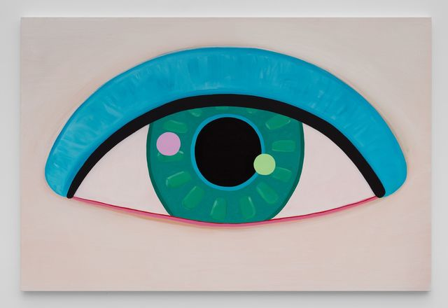 Brian Calvin, 'Eye (II)', 2017, Painting, Acrylic on canvas, Almine Rech