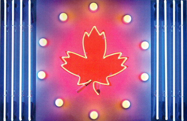 , 'Canadian Flag,' 1965, Wallace Galleries