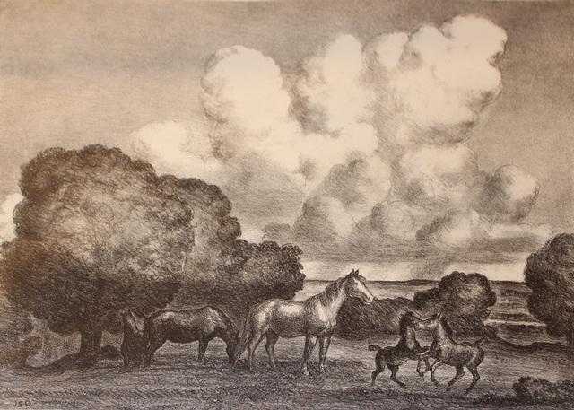 , 'Summer Afternoon,' 1940, Kiechel Fine Art