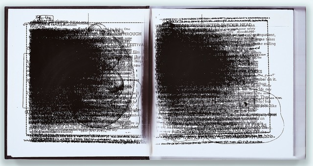 , 'Facsimile Compression: Grapefruit, Yoko Ono,' 2014, Michael Valinsky + Gabrielle Jensen