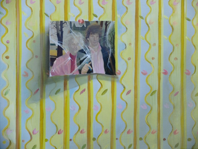 Grace O'Connor, 'Your pretty flowered bedroom', 2016, Painting, Oil on canvas. Signed on verso, Paul Stolper Gallery