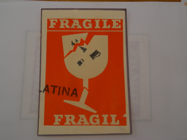 Paulo Bruscky, 'Frágil/Fragile', undated, Henrique Faria Fine Art