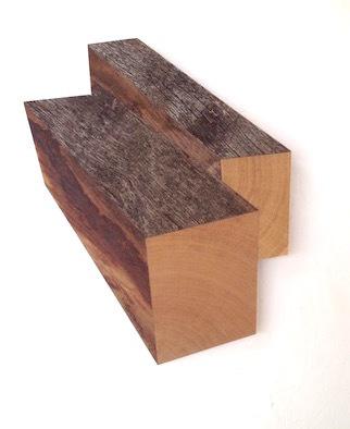 Robert Steng, 'Two Blocks of Oak', 2018, Galerie von Braunbehrens