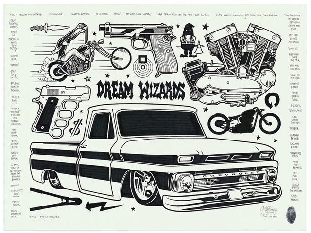 , 'Dream Wizards,' 2016, Black Book Gallery