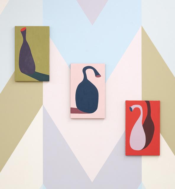 , 'Bottle I - V,' 2018, 532 Gallery Thomas Jaeckel
