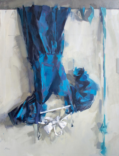 , 'Blue Dress over Door,' 2006, J. Cacciola Gallery