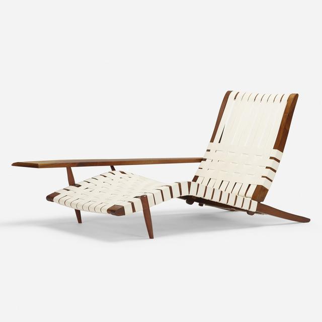 George Nakashima, 'Long chair', 1968, Wright