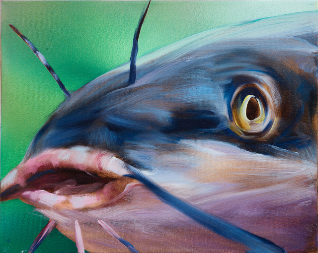 , 'Blue Catfish,' 2016, Rosamund Felsen Gallery