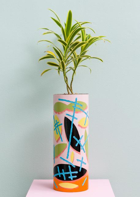 , 'Pink Tube Pot,' 2016, Asya Geisberg Gallery
