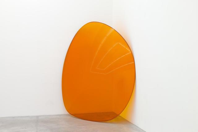 , 'Lens (Orange),' 2015, Almine Rech