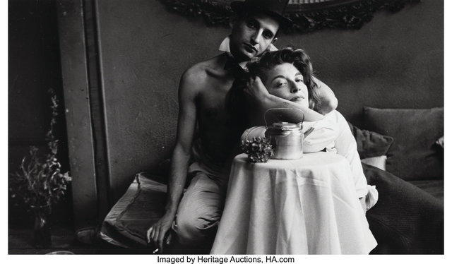 Saul Leiter, 'Angelo Ippolito with Anita Berger', circa 1950s, Heritage Auctions