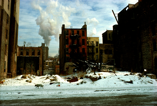 , 'As Above As Below, East 5th Street, New York,' 1979, Inda Gallery