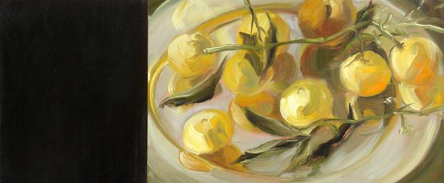 Jamie Evrard, 'Oranges on Silver', Bau-Xi Gallery