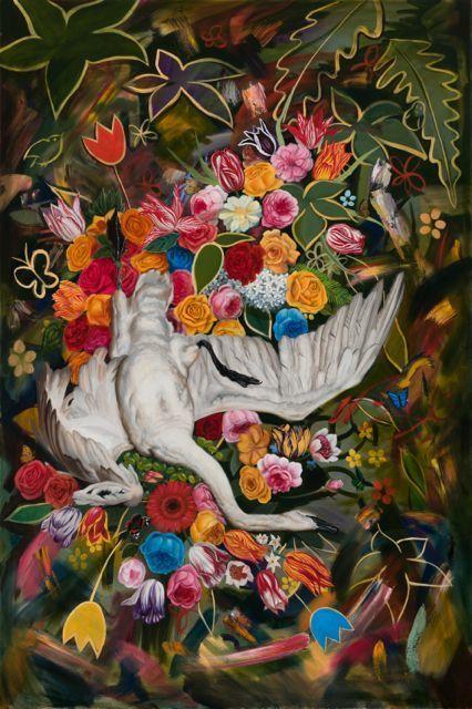 , 'Fallen Swan,' 2019, k contemporary
