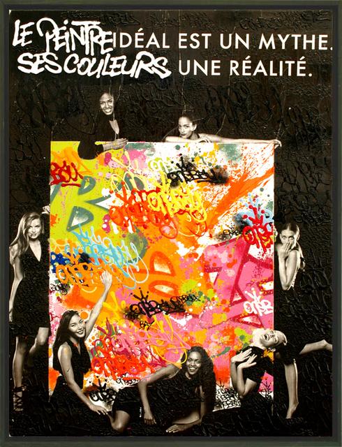 , 'Le Peintre Idéal Est Un Mythe ...,' 2015, Galerie Art Jingle
