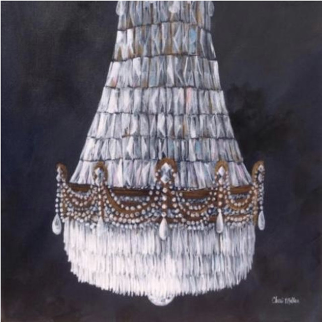 "Cheri Miller, '""Antique Chandelier""', 2018, Gallery 104"