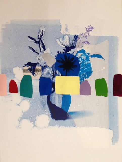 , 'Indigo Bouquet (blue hydrangea),' 2018, Kahn Gallery