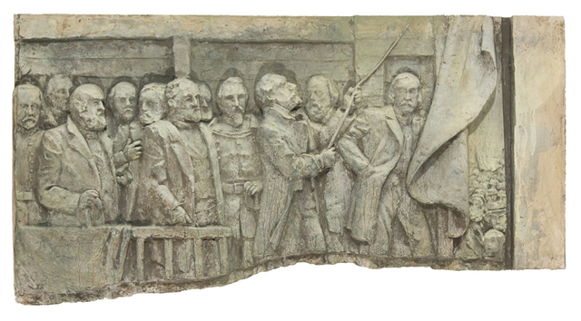 , 'The Annexation Ceremony on February 19, 1846,' 2012, Valley House Gallery & Sculpture Garden