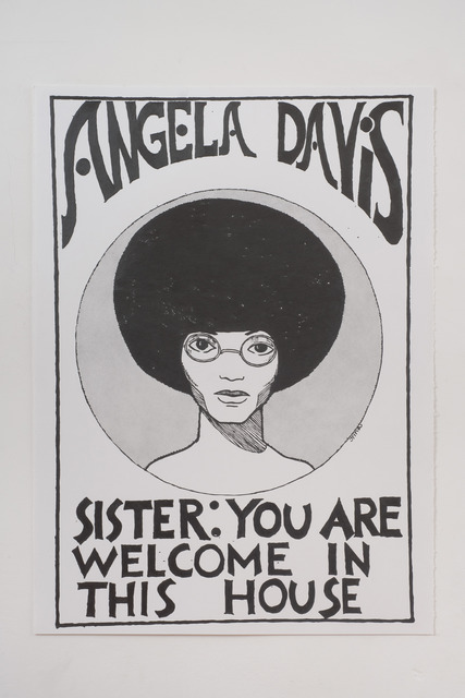 Andrea Bowers, 'Angela Davis-You Are Welcome in This House (In Honor of Julian Madyun)', 2011, CalArts Benefit
