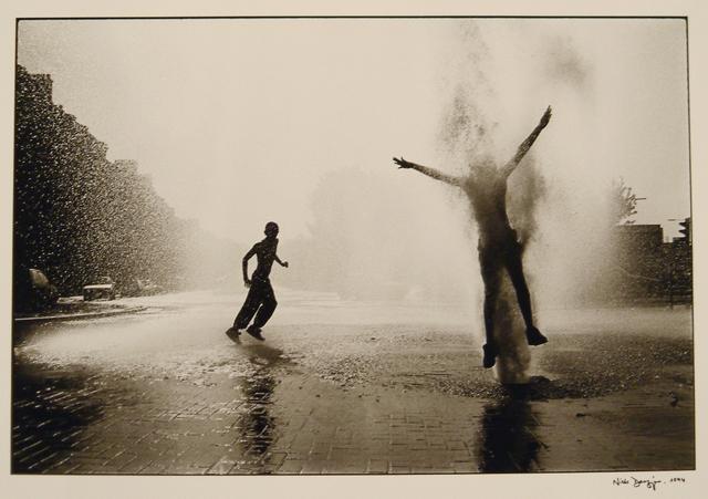 , 'Glasgow - Broken fire hydrant, Parkhead,' 1994, Osborne Samuel