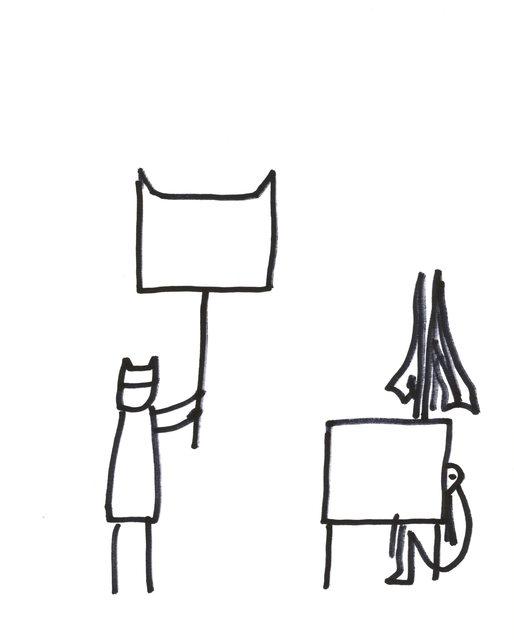 , 'Resist Drawing 3,' 2018, Jane Lombard Gallery