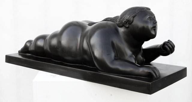, 'Donna con mela,' 2008, Gary Nader