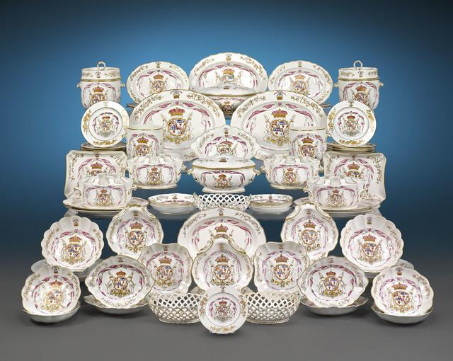 , 'Duke of Hamilton Porcelain Service,' 1780-1790, M.S. Rau Antiques