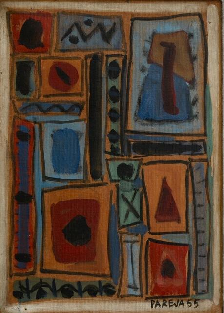 , 'Composición murale I,' 1955, Galería de las Misiones