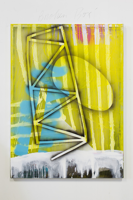 , 'Yellow Gate,' 2015, General Hardware Contemporary
