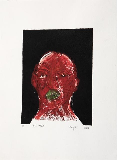 , 'Red Head,' 2018, Barnard