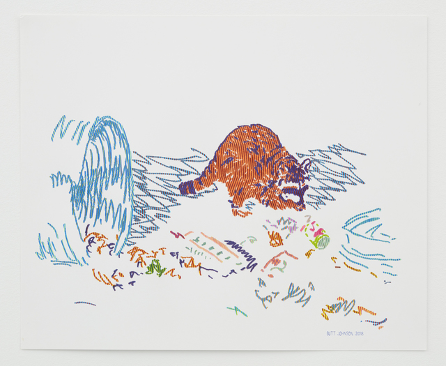 Butt Johnson, 'Untitled (Raccoon)', 2018, Talley Dunn Gallery