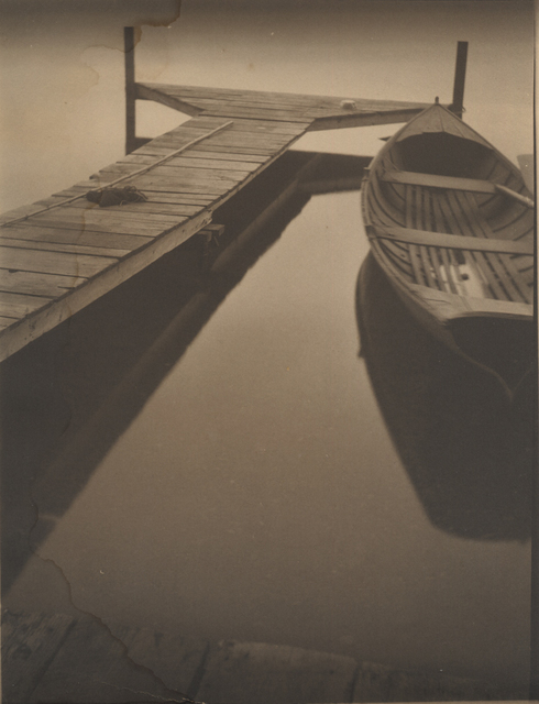 , 'Untitled (boat at the dock),' 1924, Robert Mann Gallery
