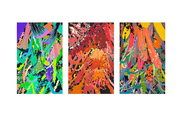 , 'Pollen No.31, 32, 33,' 2018, ART LABOR Gallery