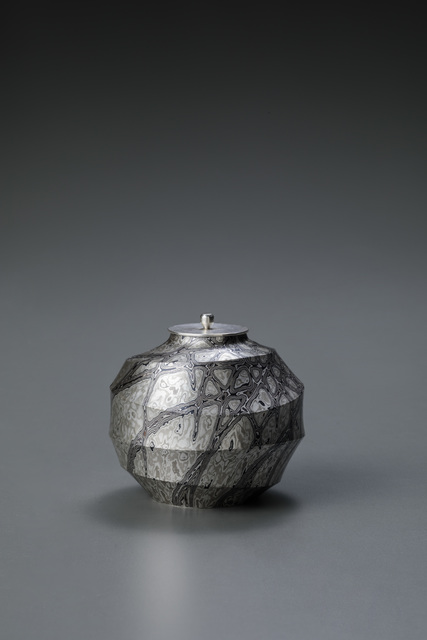 , 'Mokume-gane Tea Caddy,' 2017, Onishi Gallery