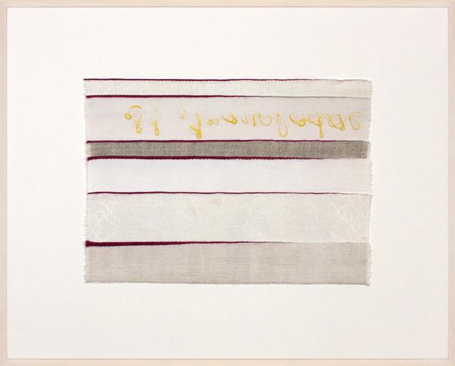 , 'Inventory Drawing lodge,' 2017, Rhona Hoffman Gallery
