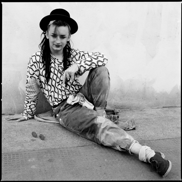 , 'Boy George, London,' 1981, Fahey/Klein Gallery