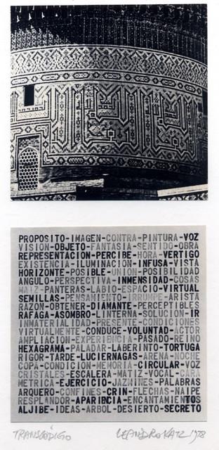 , 'Transcódigo,' 1978, Henrique Faria | Buenos Aires