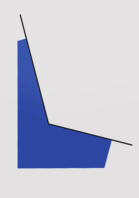 , 'Space with Blue,' 1990, Washburn Gallery