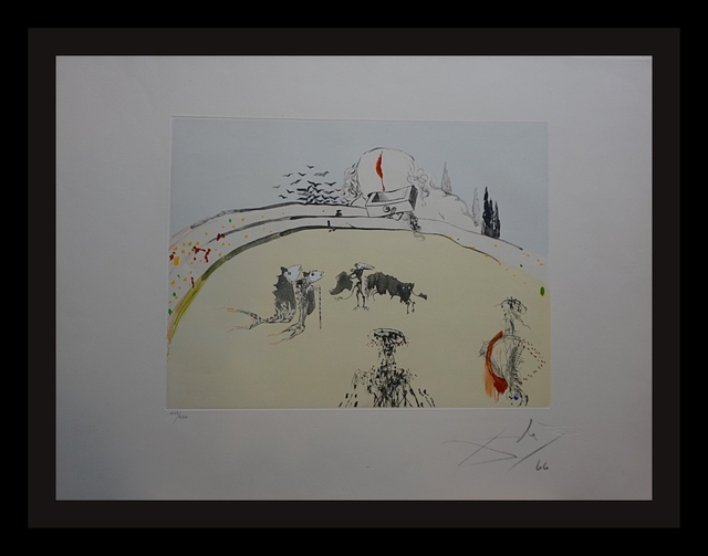 Salvador Dalí, 'Tauramachie Surrealiste Bullfight With Drawer', 1970, Fine Art Acquisitions