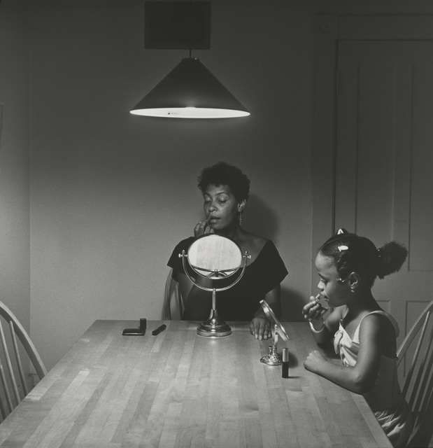 Carrie Mae Weems, 'Untitled (Woman and daughter with makeup) (from Kitchen Table Series),' 1990, Guggenheim Museum