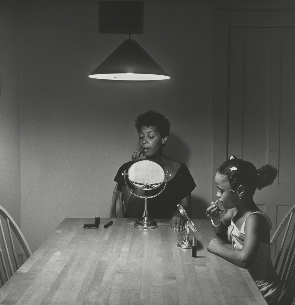 carrie mae weems | untitled (woman and daughter with makeup) (from