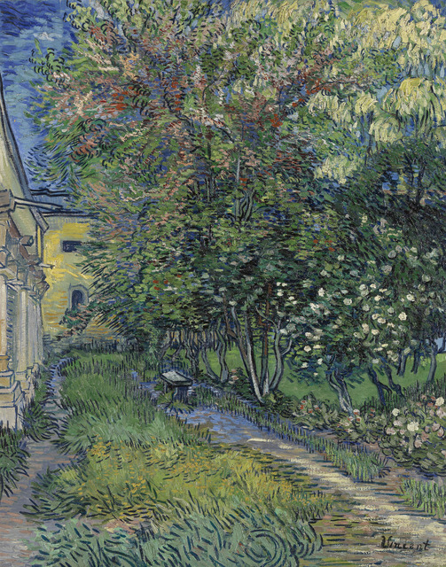 , 'The Garden of Saint-Paul Hospital,' 1889, National Gallery of Victoria