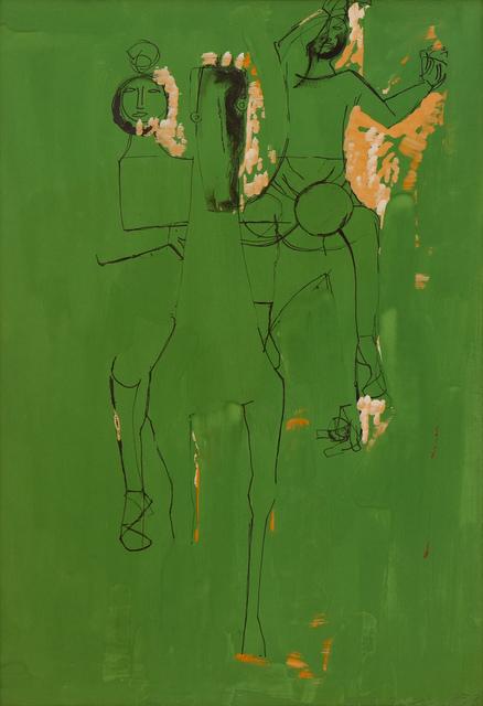 , 'Cavallo e giocolieri (Horse and jugglers),' 1953, Studio Guastalla