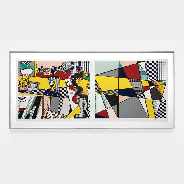 , 'Tel Aviv Museum print (Cortlett 238),' 1989, Joseph K. Levene Fine Art, Ltd.
