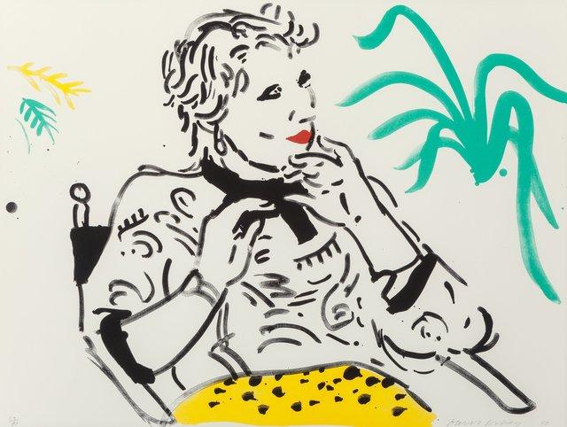 David Hockney, 'Celia with Green Plant', 1980, Heritage Auctions