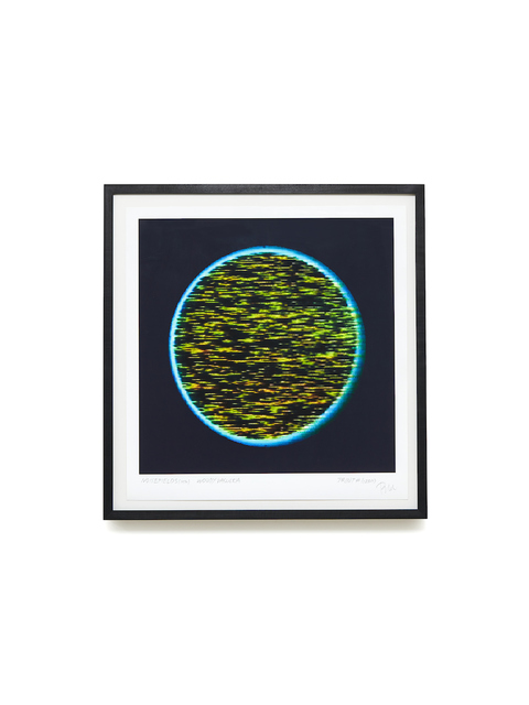 , 'Noisefields (1974). Print #1,' 2011, BERG Contemporary