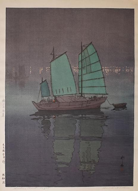 , 'Sailboats - Night,' 1926, Ronin Gallery