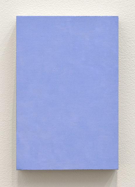 , '029k Blu (Azzurro) 457141,' 2014, Betty Cuningham