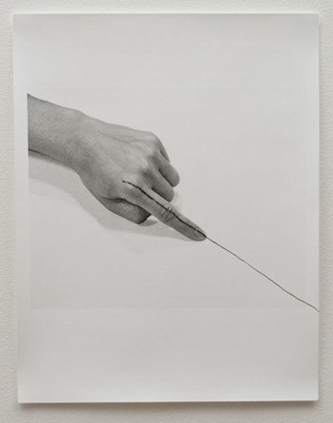 , 'Untitled (line),' 1973, Espacio Mínimo